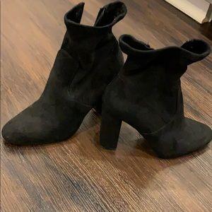 Steve Madden boot heels